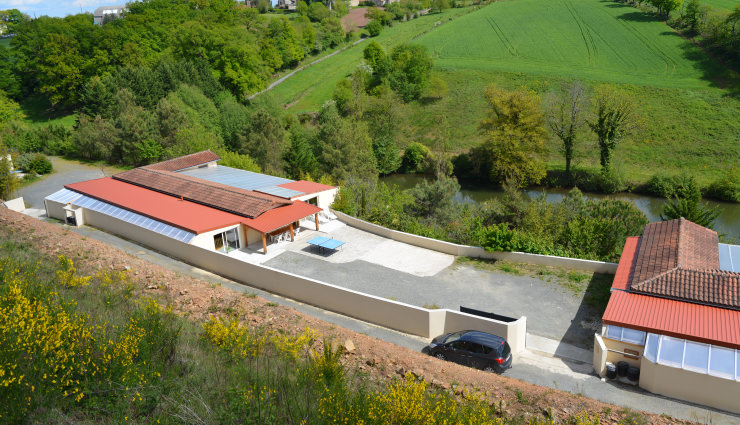 Villa le Grenadier location en aveyron